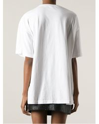 KTZ - White Symbol Print Tshirt - Lyst