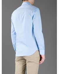 Acne Studios Blue Chatwin Fitted Shirt for men