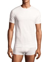 Calvin Klein | 2-pack Crewneck T-shirt, White for Men | Lyst
