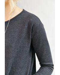 BDG - Black Amber Tunic Sweatshirt - Lyst