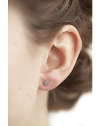 Clarice Price Thomas | Metallic Small Silver Cog Studs | Lyst
