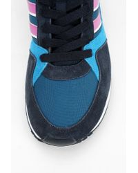 Urban Outfitters - Blue Adidas Zxz 100 Running Sneaker - Lyst