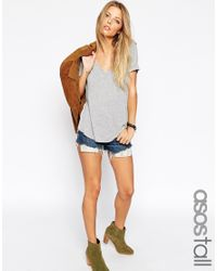 ASOS | Gray The New Forever T-shirt | Lyst