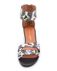 Rebecca Minkoff - White Lore Demi Wedge Sandals - Lyst