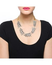 Lulu Frost | Metallic Rococo Necklace | Lyst