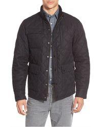 Bonobos - Black 'banff' Quilted Jacket for Men - Lyst