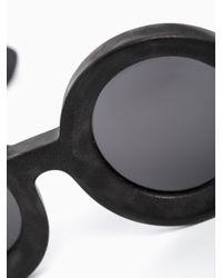 """Kuboraum Black """"Julius"""" Sunglasses for men"""