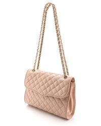 Rebecca Minkoff Brown Quilted Affair Bag Latte