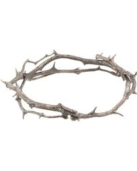 Pearls Before Swine - Metallic Silver Thorn Hinged Bangle - Lyst