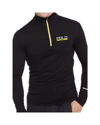 Ralph Lauren   Black Stretch Jersey Pullover for Men   Lyst