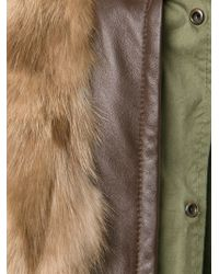 Mr & Mrs Italy   Green Mink Fur Hooded Parka for Men   Lyst