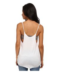 Hurley - White 99 Stars Riot Tank Top - Lyst