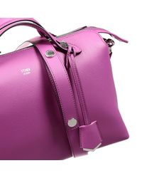 Fendi | Purple Handbag By The Way Bauletto Big Leather | Lyst
