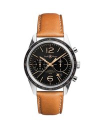 Bell & Ross Brown Limited Edition Fly Gmt Watch for men