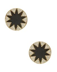 House of Harlow 1960 | Black Sunbrust Stud Earrings | Lyst