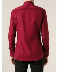 Dolce & Gabbana Red Classic Shirt for men