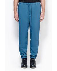 3.1 Phillip Lim - Blue Utility Pant With Side Zipper Detail for Men - Lyst