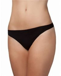 Felina - Black Sublime Thong - Lyst