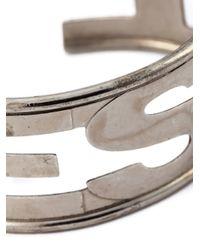 DIESEL | Metallic 'arter' Cuff for Men | Lyst