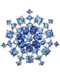 Jones New York | Blue Open Work Clusters Pin | Lyst