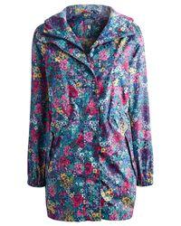 Joules Multicolor Right As Rain Golightly Waterproof Jacket