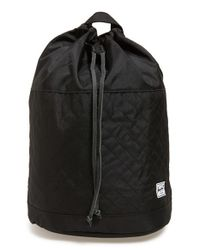 Herschel Supply Co. - Black 'hanson' Quilted Backpack - Lyst