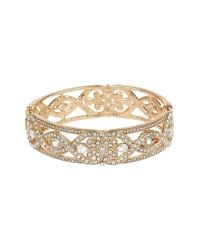 Mikey | Metallic Double Fillagary Design Bangle | Lyst