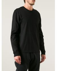 Dior Homme Black Long Sleeve Tshirt for men