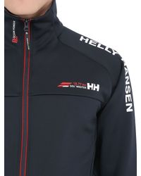 Helly Hansen Blue Hp Sailing Fleece Jacket for men