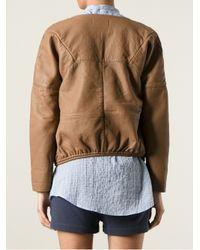 Humanoid Brown Bonded Jacket