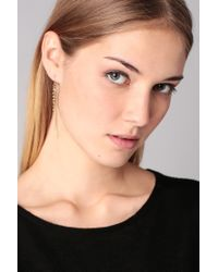Pieces - Metallic Earrings - Lyst
