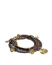 Love Bullets - Gray Lovebullets Multi Bullet Bracelet for Men - Lyst