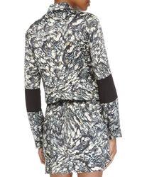 Nicole Miller - Black River Stone Enzyme Dress - Lyst