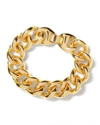 Banana Republic | Metallic Curb Chain Bracelet | Lyst