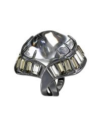 Alexis Bittar | Metallic Baguette Barrel Ring | Lyst