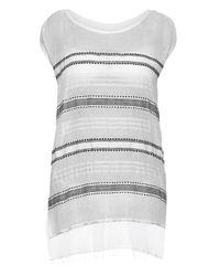lemlem   Multicolor Addis Multi-Striped Cover-Up Dress   Lyst