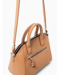 Mango | Natural Little Tote Bag | Lyst