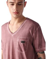 DIESEL - Pink T-orthos for Men - Lyst