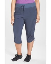 Zella | Gray 'Work It' Capris | Lyst