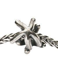 Trollbeads | Metallic Silver Double Starfish Bead | Lyst