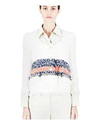 Sonia Rykiel - White Tweed Jacket - Lyst