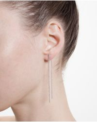 Carolina Bucci White 18K Gold Magic Wand Earrings
