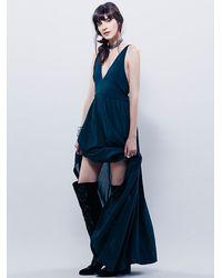 Free People - Green Endless Summer Womens Dakota Dress - Lyst