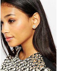 ALDO Metallic Charette Stud Earrings Multipack