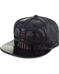 KTZ Black Darth Vader 59Fifty Baseball Cap - For Men for men