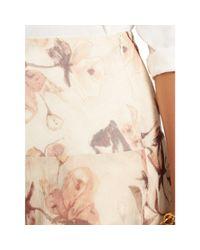 Ralph Lauren - Multicolor Floral Tiered Skirt - Lyst