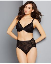 Wacoal | Black Clear And Classic Bra 853244 | Lyst