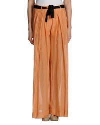 Suoli - Orange Casual Trouser - Lyst