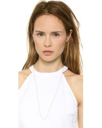 Monica Rich Kosann | Pink Oval Link Chain Necklace - Rose Gold | Lyst