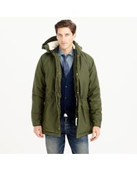J.Crew Green Norse Projects Lindisfarne Canvas Jacket for men